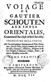 Voyage aux Indes orientales de 1658 à 1665