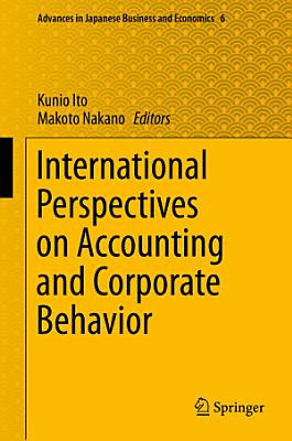 International Perspectives on Accounting and Corporate Behavior PDF