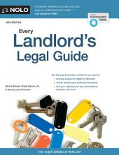 Every Landlord's Legal Guide: Edition 13