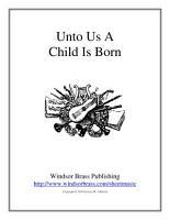 Unto Us a Child Is Born PDF