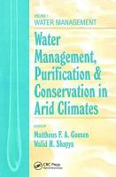 Water Management  Purificaton  and Conservation in Arid Climates PDF