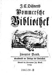 Pommersche Bibliothek: Band 2