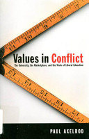 Values in Conflict PDF