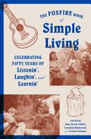 The Foxfire Book of Simple Living PDF