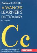 Cobuild Advanced Learner's Dictionary
