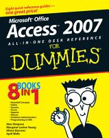 Microsoft Office Access 2007 All in One Desk Reference For Dummies PDF