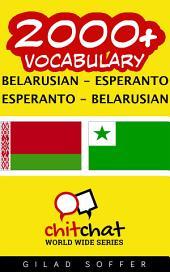2000+ Belarusian - Esperanto Esperanto - Belarusian Vocabulary