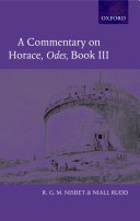 A Commentary on Horace: Odes