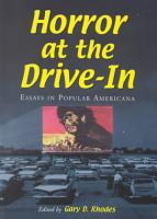 Horror at the Drive in PDF