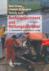 Rettungsassistent und Rettungssanitäter: Ausgabe 4