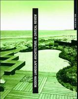 Modern Landscape Architecture PDF