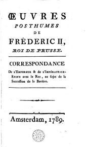 Oeuvres posthumes de Fréderic II ...: histoire de mon temps, Volume6