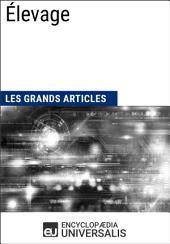 Élevage: Les Grands Articles d'Universalis