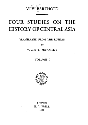 Four Studies on the History of Central Asia  A short history of Turkestan  History of the Semirechy    v  2  Ulugh beg PDF