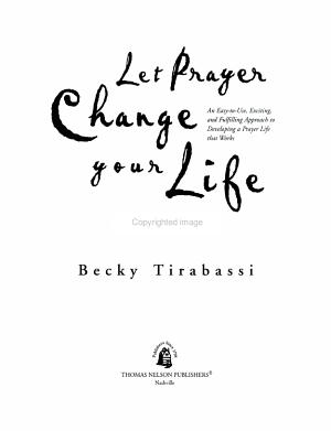 Let Prayer Change Your Life PDF