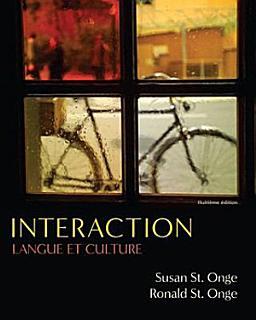 Interaction  Langue et culture Book