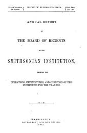 Annual Report of the Board of Regents of the Smithsonian Institution: 1866