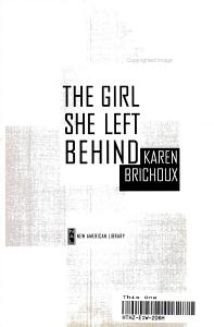 The Girl She Left Behind Book