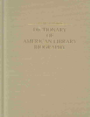 Dictionary of American Library Biography PDF