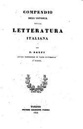 Compendio dell' istoria della letteratura italiana