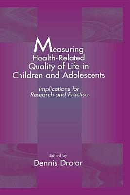 Measuring Health Related Quality of Life in Children and Adolescents PDF