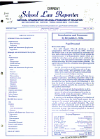 School Law Reporter PDF
