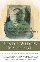 Hindu Widow Marriage PDF