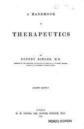 A Handbook of Therapeutics