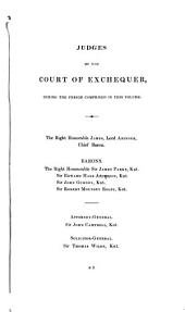 Reports of cases argued and determined in the courts of Exchequer & Exchequer Chamber: from Hilary term, 6 Will. IV. to [Easter term, 10 Vict.] both inclusive. With tables of the cases and principal matters. [1836-1847]