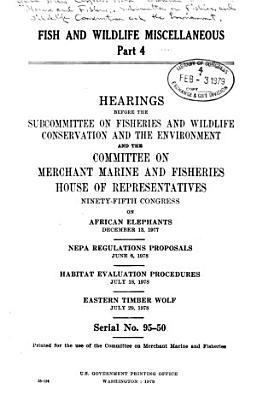 Fish and Wildlife Miscellaneous PDF