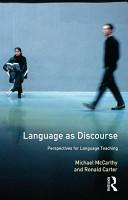 Language as Discourse PDF