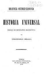 Historia universal: esboço de sociologia descriptiva, Volume 1