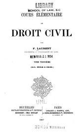 Art. 1234 à 1831