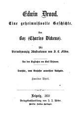 Sämmtliche Werke: Edwin Drood ; 2 : eine geheimnisvolle Geschichte, Band 124