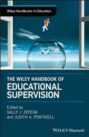 The Wiley Handbook of Educational Supervision PDF