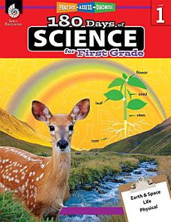 180 Days of Science for First Grade Book