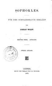 Sophokles: th. Antigone. 1873