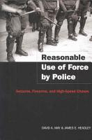 Reasonable Use of Force by Police PDF