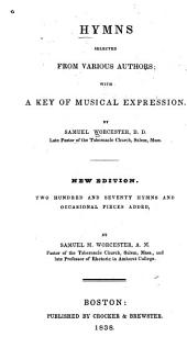 Hymns Selected from Various Authors with a Key of Musical Expression