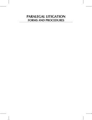 Paralegal Litigation