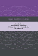 An Introduction to Human Factors Engineering PDF