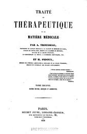 Traite de therapeutique et de matiere medicale: Volume 2