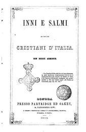 Inni e salmi ad uso dei cristiani d'Italia con dodici armonie