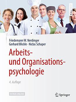 Arbeits  und Organisationspsychologie PDF