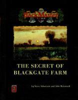 The Secret of Blackgate Farm PDF