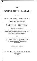 The Taxidermist's Manual