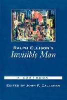 Ralph Ellison s Invisible Man PDF