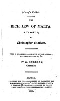 The Rich Jew of Malta PDF