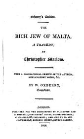 The rich Jew of Malta: a tragedy