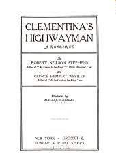 Clementina's highwayman: a romance